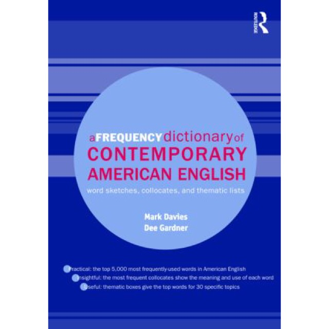 A Frequency Dictionary of Contemporary American English null