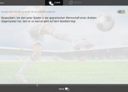 German football words app